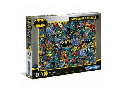 DC Comics Impossible Puzzle - Batman (1000 dílků)