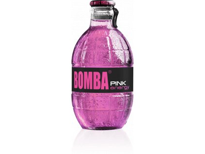 BOMBA - Energetický nápoj - Pink - 250ml