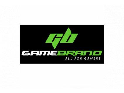 Gamebrand Samolepka černá