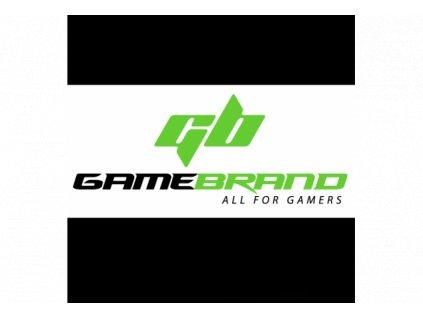 Gamebrand Samolepka bílá