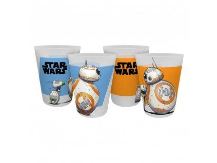 Star Wars IX plastové kelímky (4 kusy)