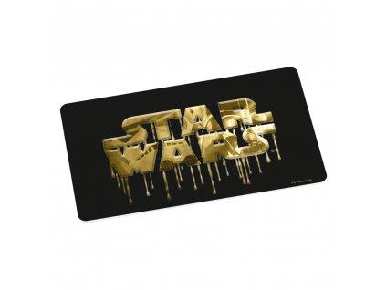 Star Wars prkénko na krájení zlaté logo