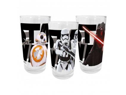 Star Wars VII skleničky Episoda VII (3kusy) (1)
