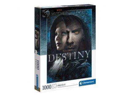 The Witcher Puzzle Destiny (1000 dílků) (1)