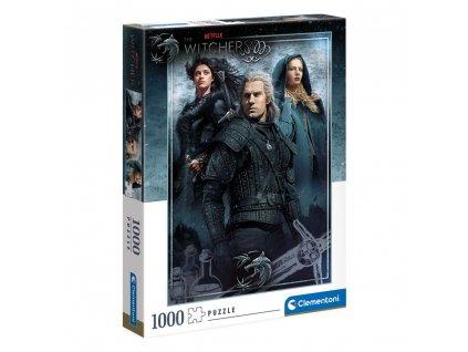 The Witcher Puzzle Ciri, Yennefer & Geralt (1000 dílků) (1)