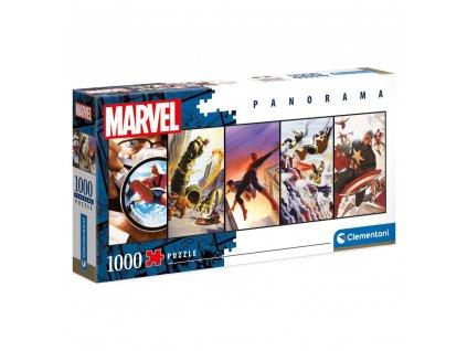Marvel Comics Panorama Puzzle Panels (1000 dílků) (1)