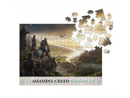 Assassin's Creed Valhalla Puzzle Raid Planning (1000 dílků)