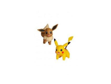 Pokémon Battle Mini figurky 2 Pack Eevee & Pikachu (5 cm) (2)