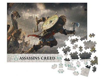 Assassin's Creed Valhalla Puzzle Fortress Assault (1000 dílků)