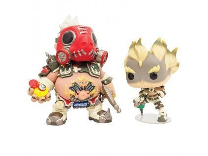 Overwatch funko figurka Roadhog and Junkrat (1)