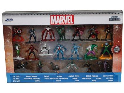 pol pl Zestaw 20 metalowych figurek Marvel 15124 12