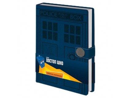 Zápisník Doctor Who - Tardis Premium