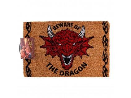 Rohožka Anne Stokes - Beware of the Dragon