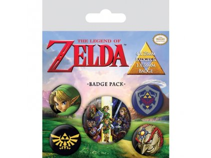 Sada placek The Legend of Zelda