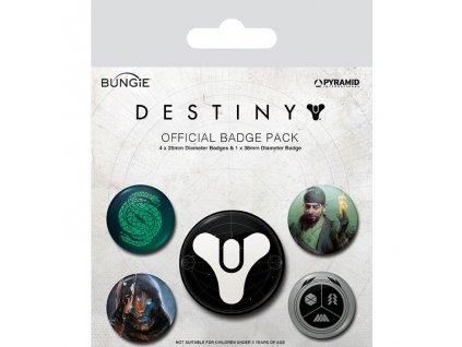 Destiny 2 - sada placek  - Guardians of Light