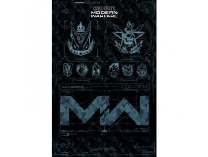 Plakát Call of Duty: Modern Warfare - Fractions