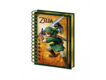 The Legend of Zelda - záppisník - Link 3D