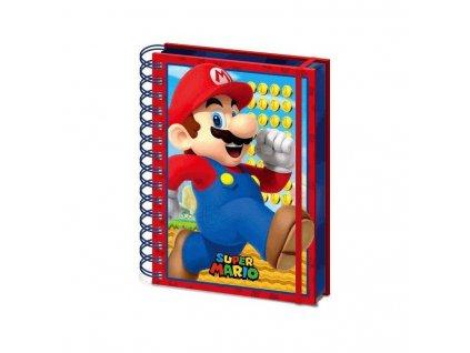 Super Mario - zápisník - 3D
