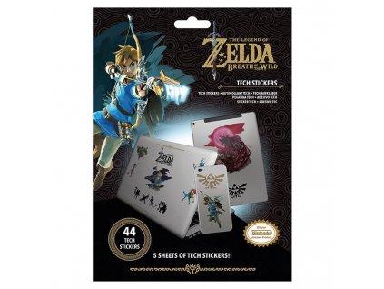 The Legend of Zelda - sada vinylových samolepek (44 ks)