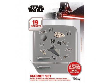 Star Wars - sada magnetek - Death Star Battle (19 ks)