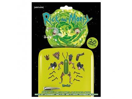 Rick and Morty - sada magnetek - Weaponize the Pickle (20 ks)