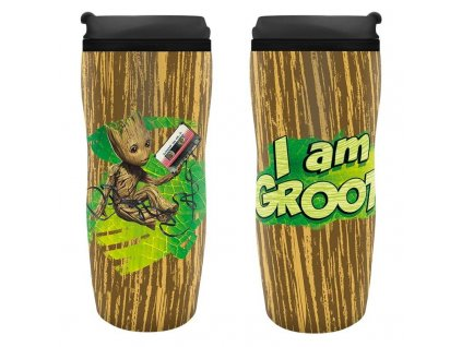 Marvel - cestovní hrnek - Groot