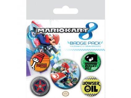 Super Mario - sada placek - Kart 8
