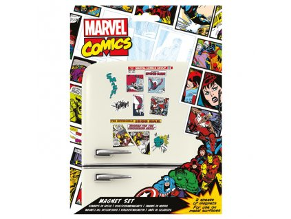 Sada magnetek Marvel Comics (23 ks)