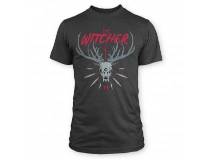 The Witcher - tričko - Lovec trofejí