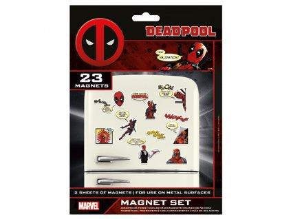 Marvel - sada magnetek - Deadpool (23 ks)