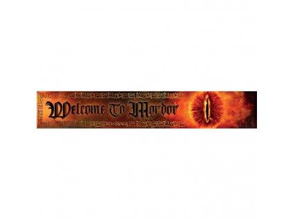 Pán Prstenů - dřevěná cedule - Mordor