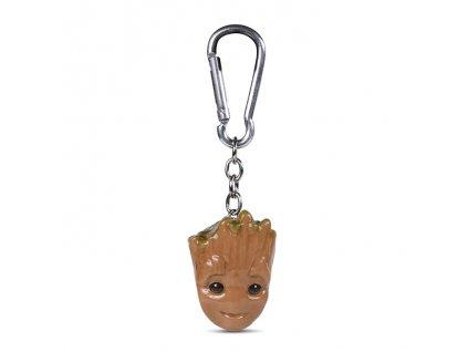 Guardians of the Galaxy - klíčenka - Baby Groot 3D