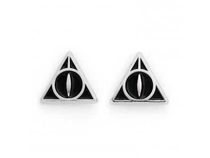 Harry Potter - náušnice - Relikvie smrti
