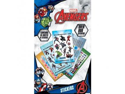 Marvel Avengers - sada samolepek - Power (800 ks)
