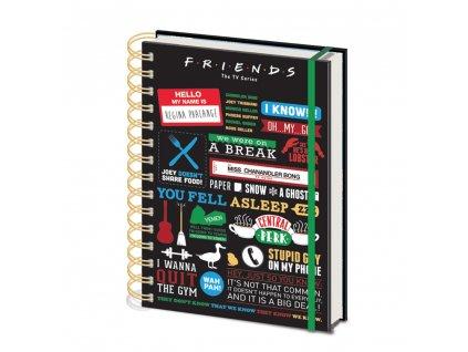 Friends - zápisník - Symboly