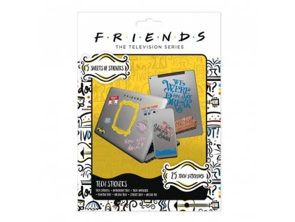 Friends - Sada vinylových samolepek (25 ks)