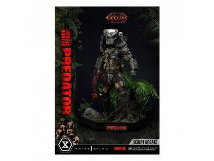Predator Museum Masterline socha Jungle Hunter Predator Deluxe Bonus Version (1)