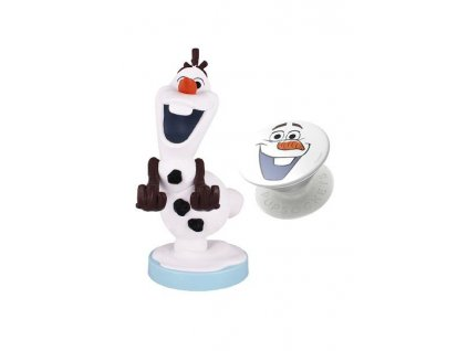Frozen Cable Guys Olaf & Pop Socket (1)