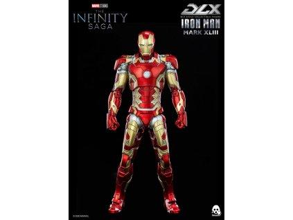 Infinity Saga DLX akční figurka Iron Man Mark 43 (1)