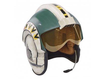 Hasbro Black Series Star Wars Episode IV Elektronická helma Wedge Antilles (1)
