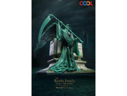 Harry Potter soška náhrobek rodiny Riddle (1)