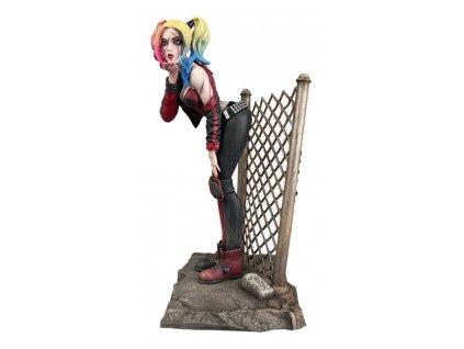 DC Comic Gallery soška DCeased Harley Quinn