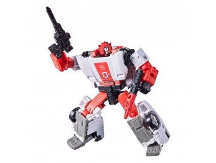 Transformers Generations War For Cybertron Kingdom Deluxe Class akční figurka Red Alert (1)
