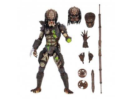 Predator 2 akční figurka Ultimate Battle Damaged City Hunter (1)