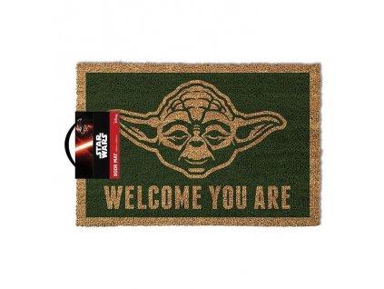 Star Wars rohožka Yoda (1)