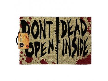 The Walking Dead rohožka Don't Open Dead Inside (1)