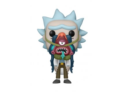Rick and Morty funko figurka Rick with Glorzo (1)