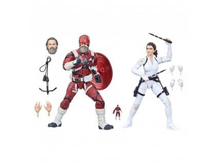 Marvel Legends Black Widow akční figurky Red Guardian & Melina (1)