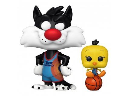 Space Jam 2 funko figurka Sylvester & Tweety (1)
