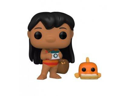 Lilo & Stitch funko figurka Lilo with Pudge
